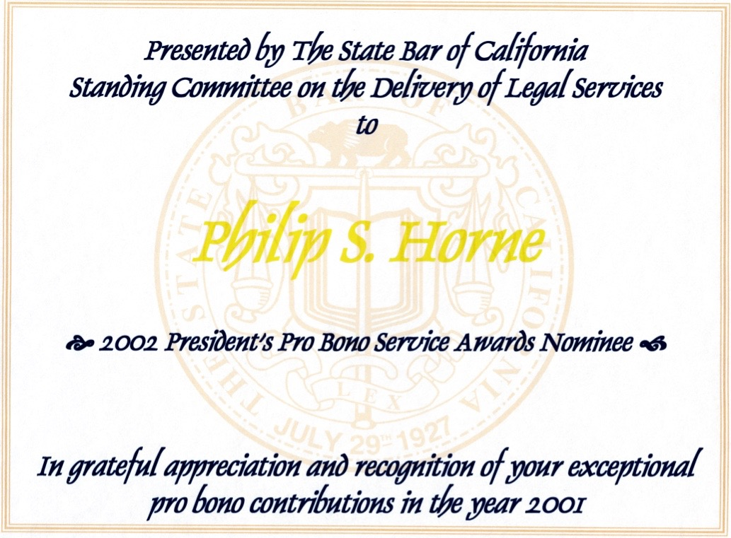 justicephil.Philip-Horne-Esq-State-Bar-Commendation-Certificate-Pro-Bono-Service-Awards-Nominee-2002